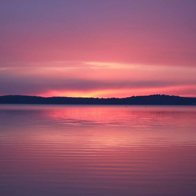 This world is magical iseelifeinpink nofilter awesomeearth lacanau lake sunsethellip