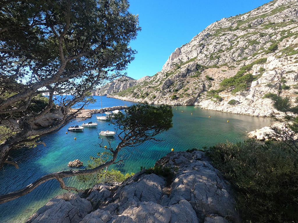 calanques de Morgiou